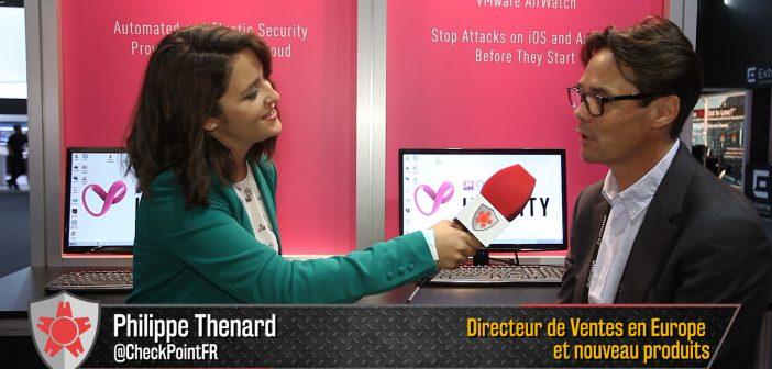 Philippe Thenard, Check Point : « Il est temps de lancer un nouveau modèle de sécurité »
