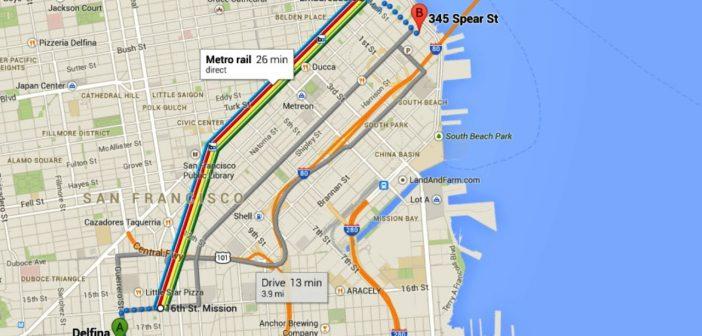 géolocalisation Google